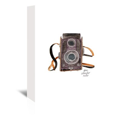 Americanflat 'Viewfinder Camera' by Gina Maher Art Print Wrapped on Canvas