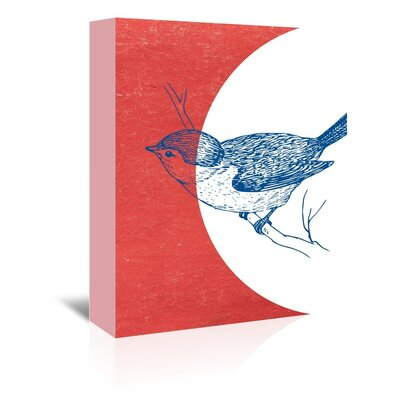 Americanflat 'Bird3' by Ikonolexi Graphic Art Wrapped on Canvas