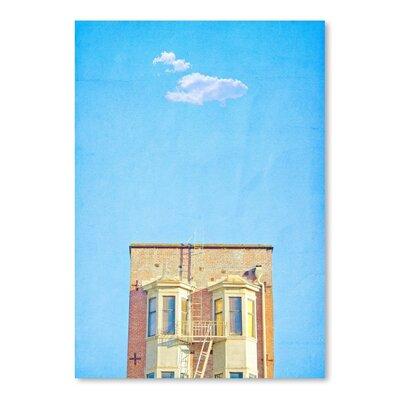 Americanflat 'Lonely-Skies-San-Francisco' by Mina Teslaru Art Print
