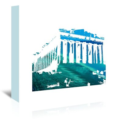 Americanflat 'Acropolis3' by Ikonolexi Graphic Art Wrapped on Canvas