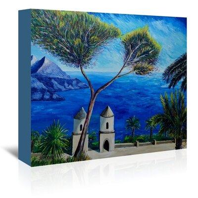 Americanflat Amalfi Coast Ii' by Markus Bleichner Art Print Wrapped on Canvas