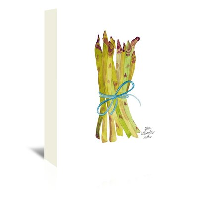 Americanflat 'Asparagus' by Gina Maher Art Print Wrapped on Canvas