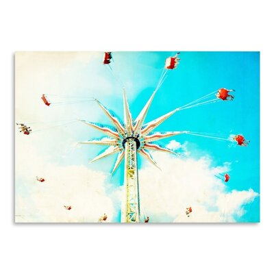 Americanflat 'Spin' by Mina Teslaru Graphic Art
