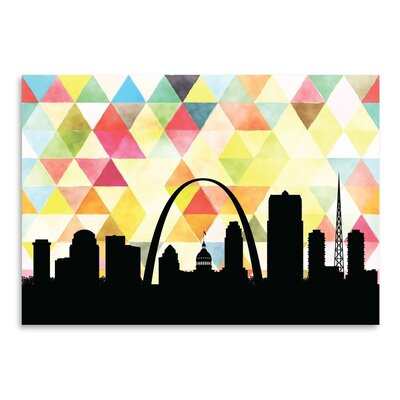 Americanflat 'SaintLouis_Triangle' by PaperFinch Graphic Art