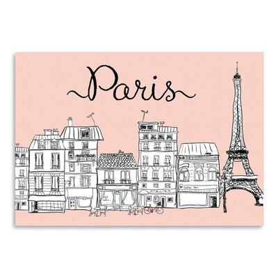 Americanflat 'Paris' Graphic Art