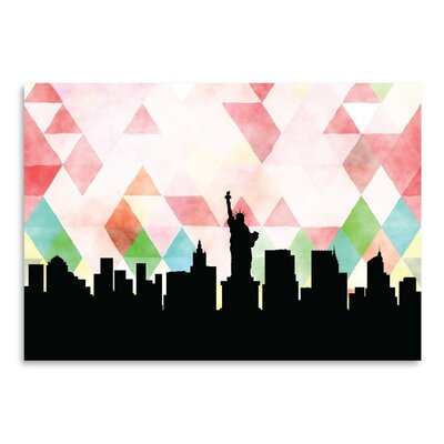 Americanflat 'NewYork Triangle' by PaperFinch Graphic Art