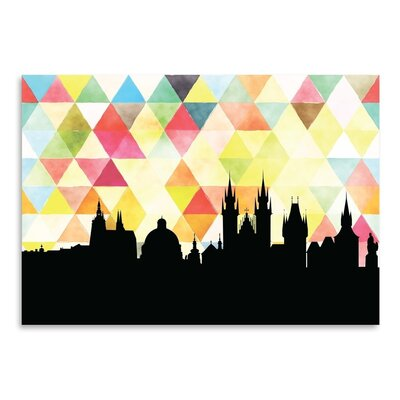 Americanflat 'Praha Triangle' by PaperFinch Graphic Art
