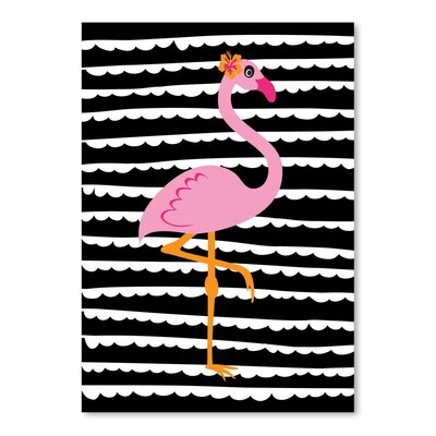 Americanflat 'Tropical Flamingo' by Ashlee Rae Graphic Art