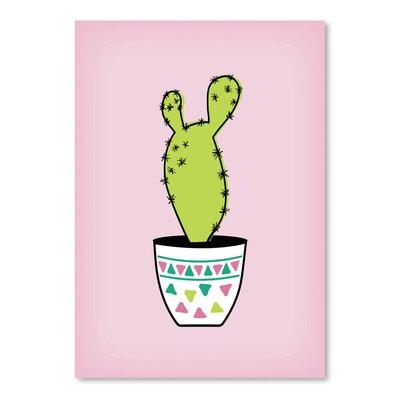 Americanflat 'Paddle Cactus' by Ashlee Rae Graphic Art