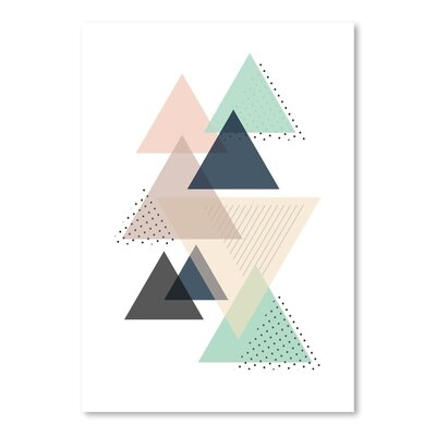 Americanflat 'Triangles_Pnbc' by The Glass Mountain Graphic Art