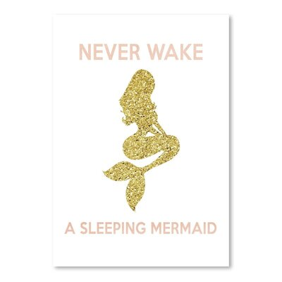 Americanflat 'Never Wake a Sleeping Mermaid' Vintage Advertisement