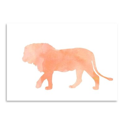 Americanflat 'Coral Lion' Graphic Art