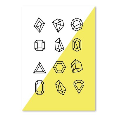 Americanflat 'Gems_12' by The Glass Mountain Graphic Art