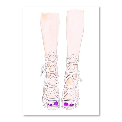 Americanflat 'Shoe' by Alison B Art Print