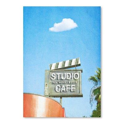 Americanflat 'Lonely-Skies-Los-Angeles' by Mina Teslaru Photographic Print