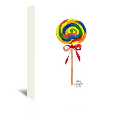 Americanflat 'Lollipop' by Gina Maher Art Print Wrapped on Canvas