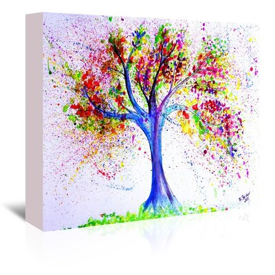Americanflat 'Tree Of Life' by M Bleichner Art Print Wrapped on Canvas