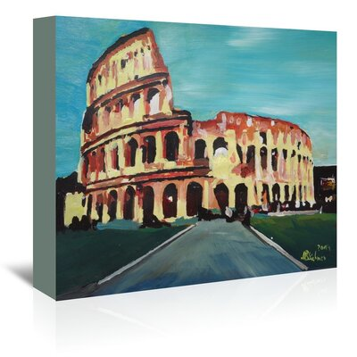 Americanflat 'Colloseum' by M Bleichner Art Print Wrapped on Canvas