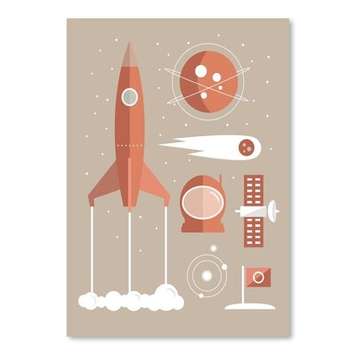 Americanflat 'Rockets Oc' by The Glass Mountain Graphic Art