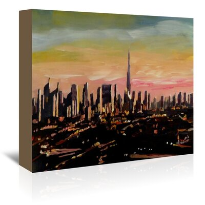 Americanflat Dubai' by Markus Bleichner Art Print Wrapped on Canvas