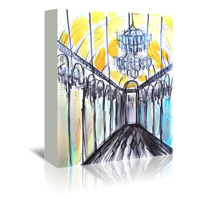 Americanflat 'Hall of Mirrors' by Cara Francis Art Print Wrapped on Canvas