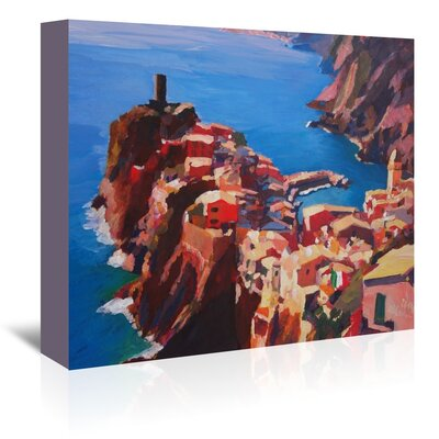 Americanflat 'Vernazza Cinque Terre' by M Bleichner Art Print Wrapped on Canvas