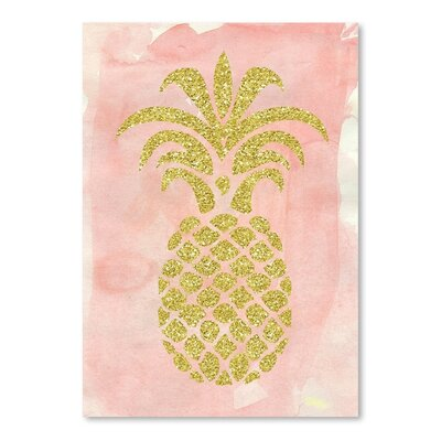Americanflat 'Pineapple2' by Ikonolexi Graphic Art