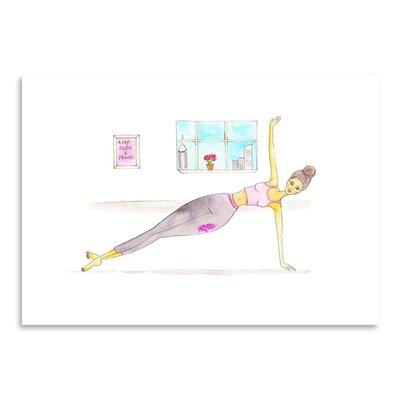 Americanflat 'Plank' by Alison B Art Print