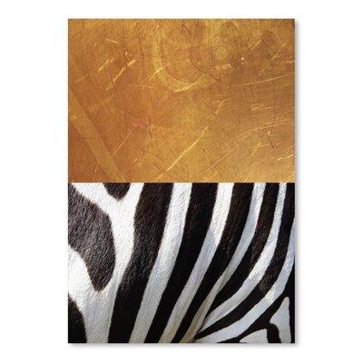 Americanflat 'ZebraA' by Ikonolexi Graphic Art