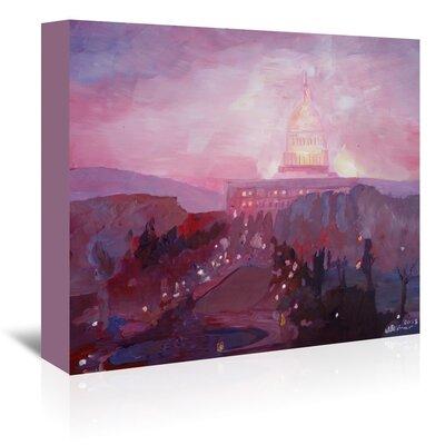 Americanflat 'Washington Capitol3 Dusk' by M Bleichner Art Print