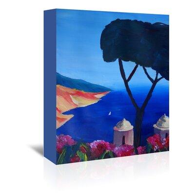 Americanflat 'Ravello Amalfi Salerno Wonderful Coast Line 2' by M Bleichner Art Print Wrapped on Canvas