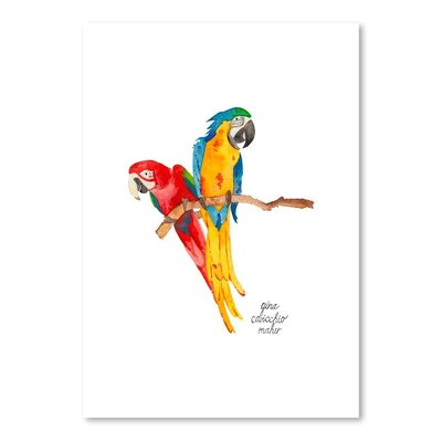 Americanflat 'Birds' by Gina Maher Art Print