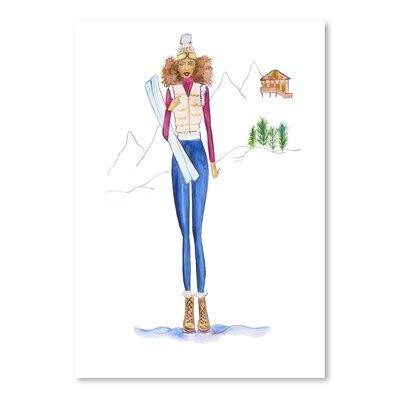 Americanflat 'Ski Final' by Alison B Art Print