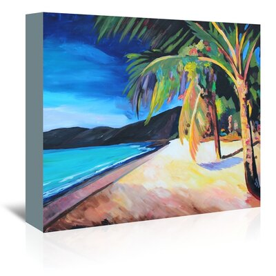 Americanflat 'Magens Bay St Thomas Usvi' by M Bleichner Art Print Wrapped on Canvas