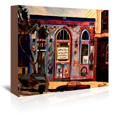 Americanflat 'Positively Haight' by M Bleichner Art Print Wrapped on Canvas