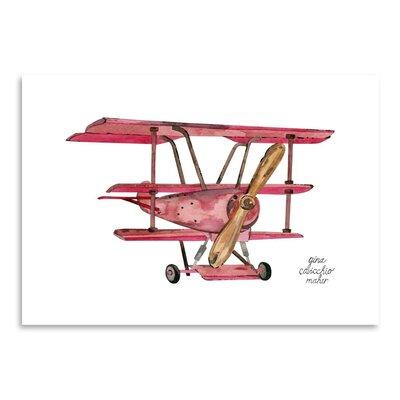 Americanflat 'Triplane' by Gina Maher Art PrintArt Print