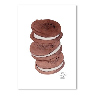 Americanflat 'Whoopie Pies' by Gina Maher Art Print