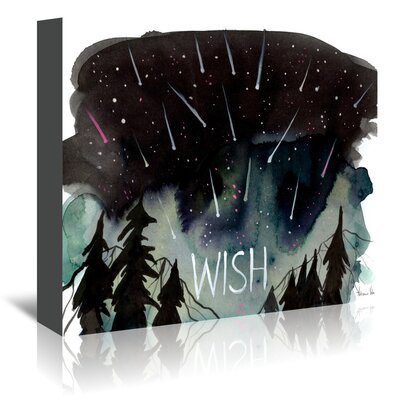 Americanflat 'Wish' by Adrienne Vita Graphic Art Wrapped on Canvas