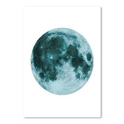 Americanflat 'Moon' The Glass Mountain Graphic Art