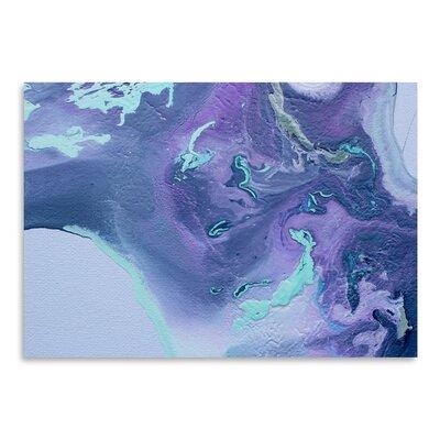 Americanflat 'Cool Purple' by Deb McNaughton Graphic Art