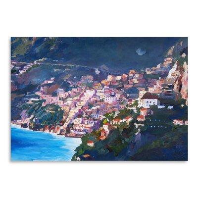 Americanflat 'Amalfi Coast I' by M Bleichner Art Print