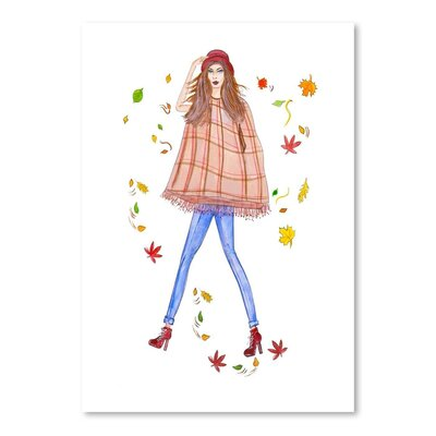 Americanflat 'Cape Fall' by Alison B Art Print