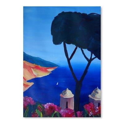 Americanflat 'Ravello Amalfi Salerno Wonderful Coast Line 2' by M Bleichner Art Print