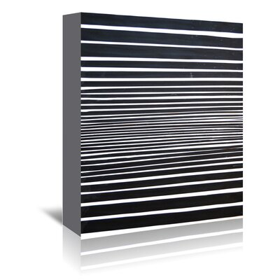 Americanflat Stripes' by Cara Francis Graphic Art Wrapped on Canvas