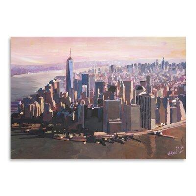 Americanflat Manhattan Freedom' by Markus Bleichner Art Print