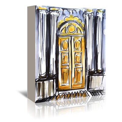 Americanflat 'Versailles Doors 1' by Cara Francis Art Print Wrapped on Canvas