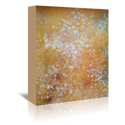 Americanflat 'AcrylicSeries' by Cara Francis Art Print Wrapped on Canvasin Yellow