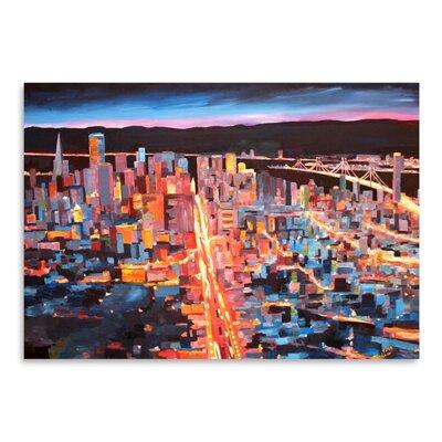 Americanflat 'San Francisco Market Street 1' by M Bleichner Art Print