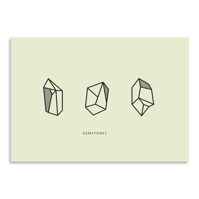 Americanflat 'Gems X3' by The Glass Mountain Graphic Art
