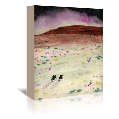 Americanflat 'The Wild Ride' by Adrienne Vita Art Print Wrapped on Canvas